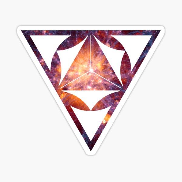 Sacred Geometry Space I Sticker