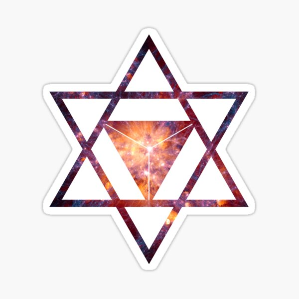 Sacred Geometry Space II Sticker