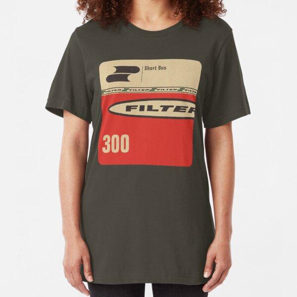 Filter - Short Bus Slim Fit T-Shirt