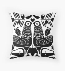 MCM Sanna Black Throw Pillow