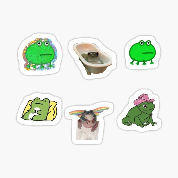 Frog Sticker Pack Sticker