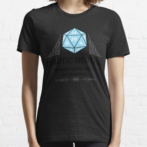 Chaotic Neutral Dungeons & Dragons Essential T-Shirt