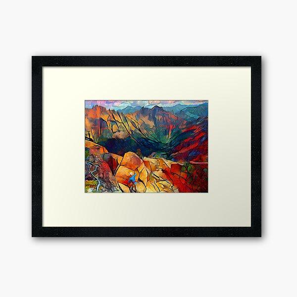 North Cascade Reverie Framed Art Print