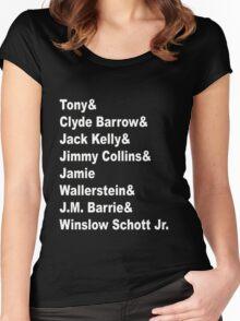 Jeremy Jordan Trash  Women's Fitted Scoop T-Shirt