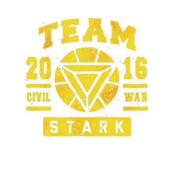 Civil War - Team Stark by Cariatydes