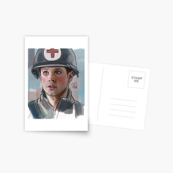 """Medic!"" 91 Whiskey's Dean Postcard"
