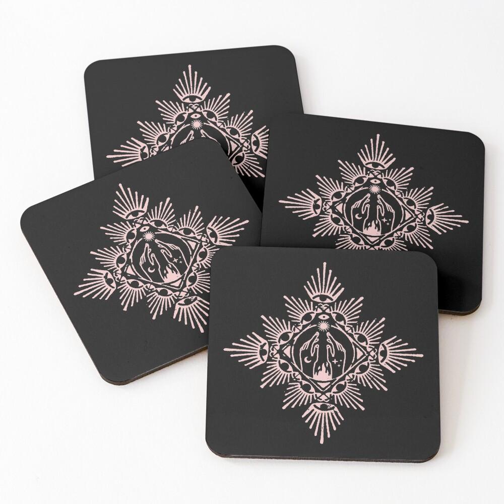 Gathering of Insight Coasters (Set of 4)