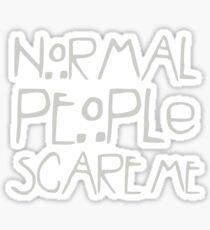 Horror Anthology - Normal People Sticker