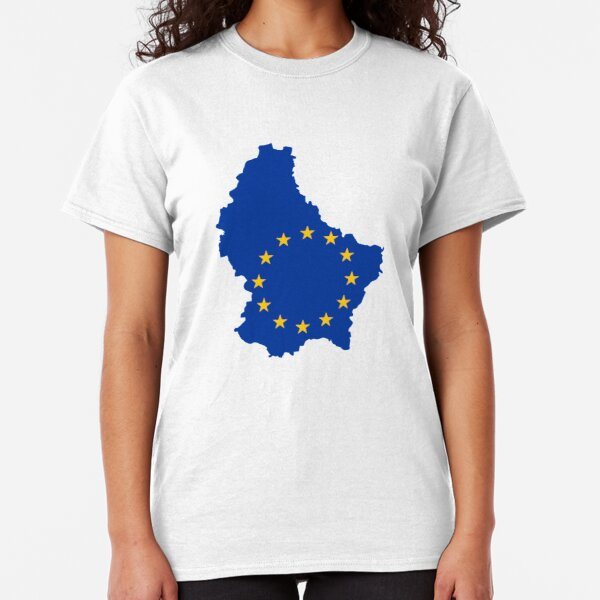 Brexit T-Shirt European Union YES EU Stars Flag Royal Blue Remain Exit UK Shirt