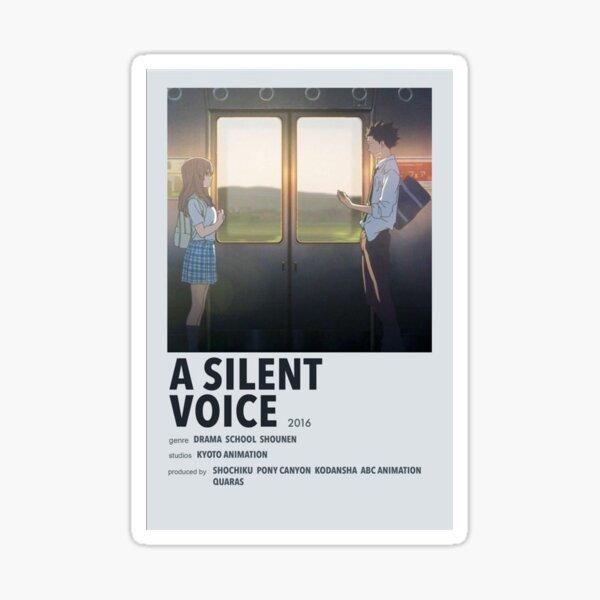A Silient Voice Exhibtion Sticker