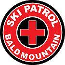 BALD MOUNTAIN UTAH Ski Patrol Ski Skiing Art by MyHandmadeSigns