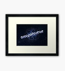 Argonian omegahedron Framed Print