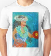 Hawaiian Hula Maiden T-Shirt