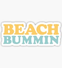 Strand Bummin ' Sticker