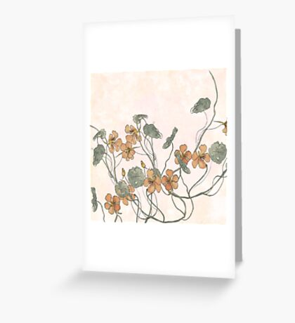 Winding Greeting Card