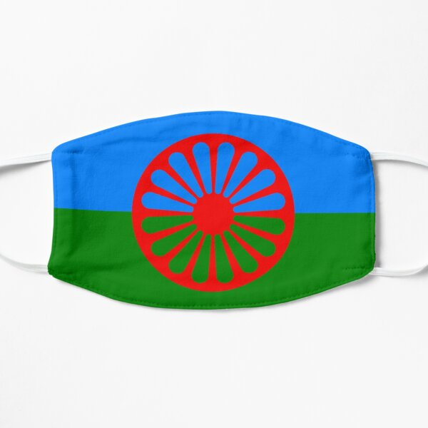 Romani Flag Flat Mask