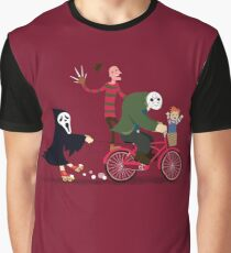 Horror Night Off Graphic T-Shirt