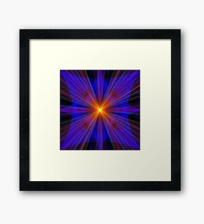 Star Framed Print