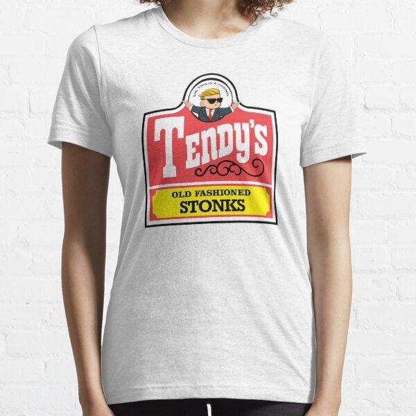 Wallstreet wendys tendys | tendies stonks Essential T-Shirt