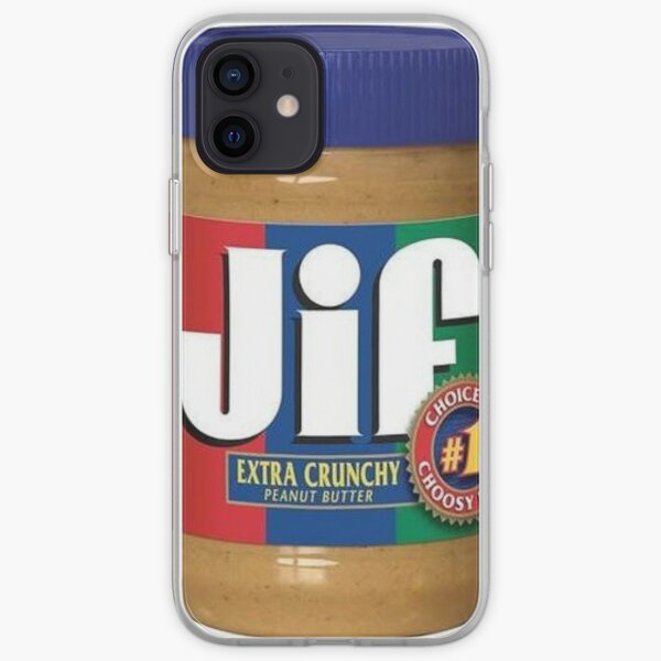Jif Peanut Butter (Extra Crunchy) iPhone Soft Case