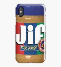 Jif Peanut Butter (Extra Crunchy) iPhone Case