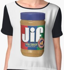 Jif Peanut Butter (Extra Crunchy) Women's Chiffon Top