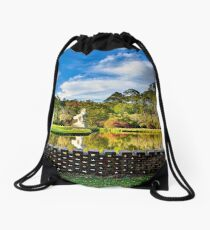 Beautiful Pond at Brookgreen Gardens Drawstring Bag
