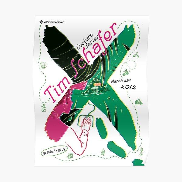 Tim Schafer Poster