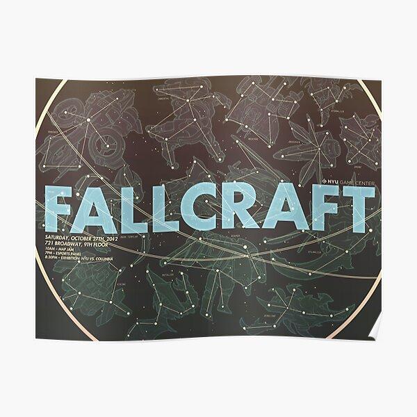 Fallcraft 2012 Poster