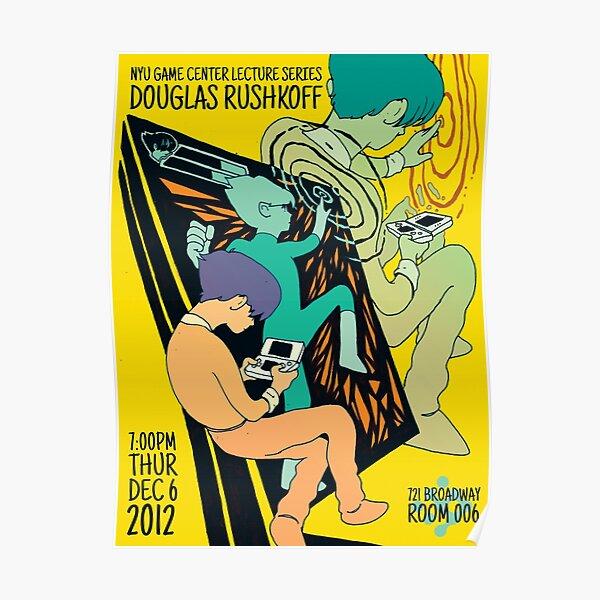 Douglas Rushkoff Poster