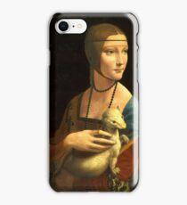 Leonardo Da Vinci - The Lady With An Ermine  iPhone Case/Skin