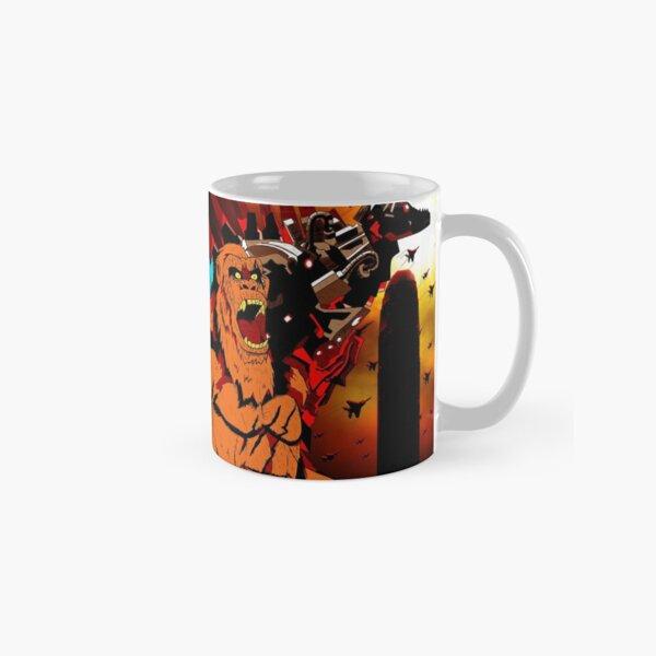 Godzilla vs Kong Retro Concept Art Classic Mug