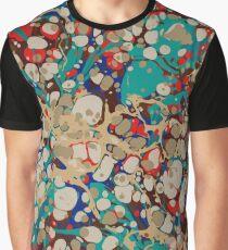 Urban Hip Hop Splash Psychedelic Colors 2 Graphic T-Shirt