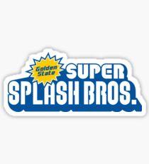 Pegatina Super Splash Bros.