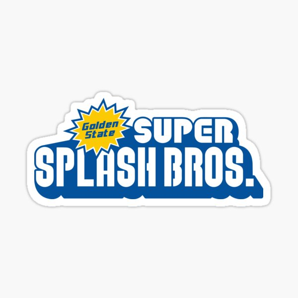 Super Splash Bros. Sticker
