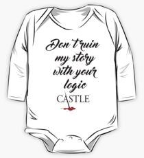 Castle quote One Piece - Long Sleeve