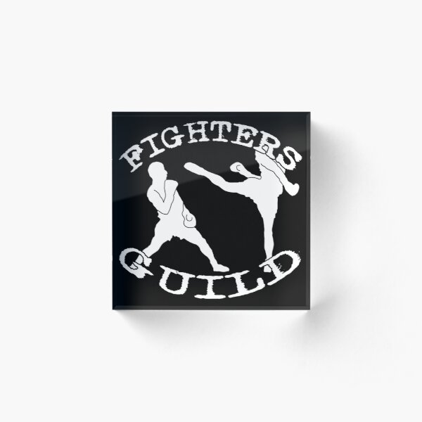 Fighters Guild - Black Acrylic Block