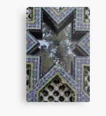 Tres culturas - Mirror Metal Print