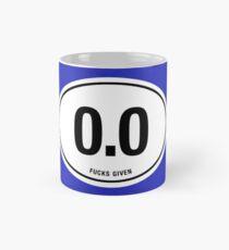 0.0 - NO FUCKS GIVEN Mug