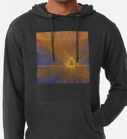 Cat on the roof Lightweight Hoodie