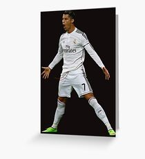 CR7, Cristiano Ronaldo, Cristiano, Ronaldo, oro, portugal, 7 Greeting Card