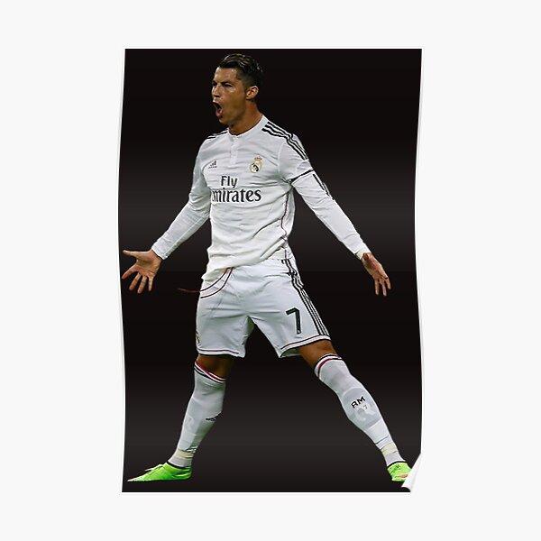 CR7, Cristiano Ronaldo, Cristiano, Ronaldo, oro, portugal, 7 Poster