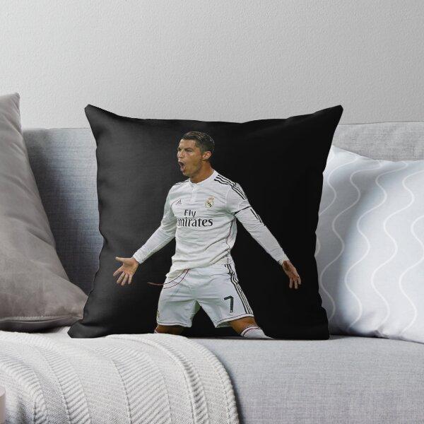 CR7, Cristiano Ronaldo, Cristiano, Ronaldo, oro, portugal, 7 Throw Pillow