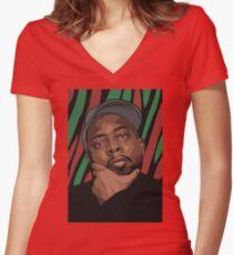 Phife Dawg Women's Fitted V-Neck T-Shirt