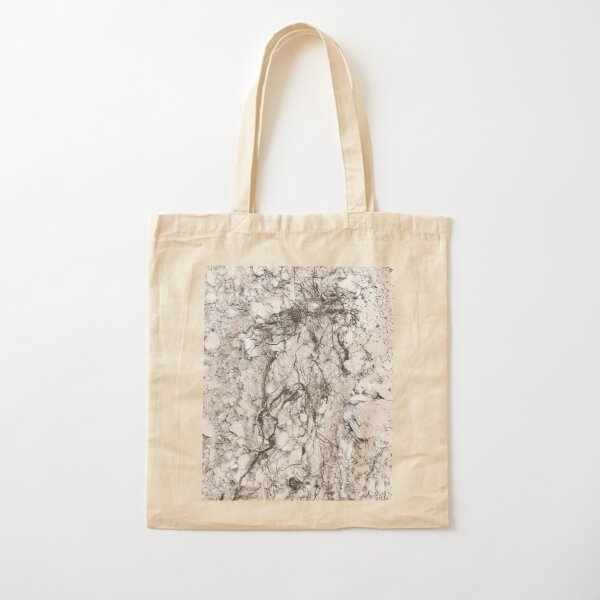 BRANCHED ROOTS 1 - Subterranean Conversation Exposed Cotton Tote Bag