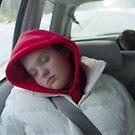 Allison schlafend von MaryinMaine