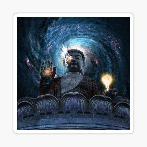 Cyborg Buddha Sticker