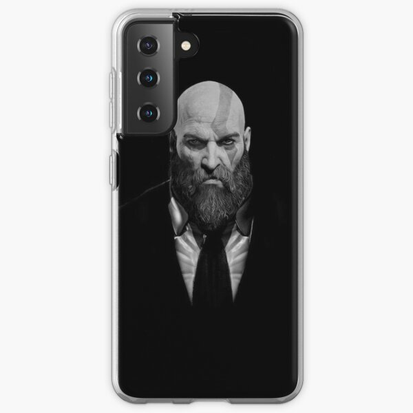 Kratos God of War in Suit Samsung Galaxy Soft Case