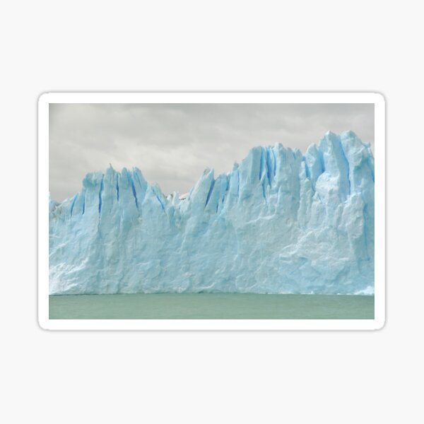 Sky Glacier Water Sticker