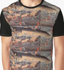 Japanese Print:  The Japanese Moby Dick Graphic T-Shirt